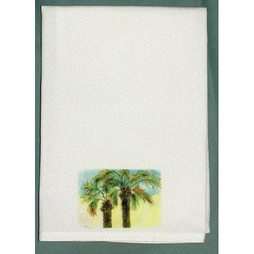 Betsy Drake Interiors Coastal Palms Hand Towel (Set of 2)
