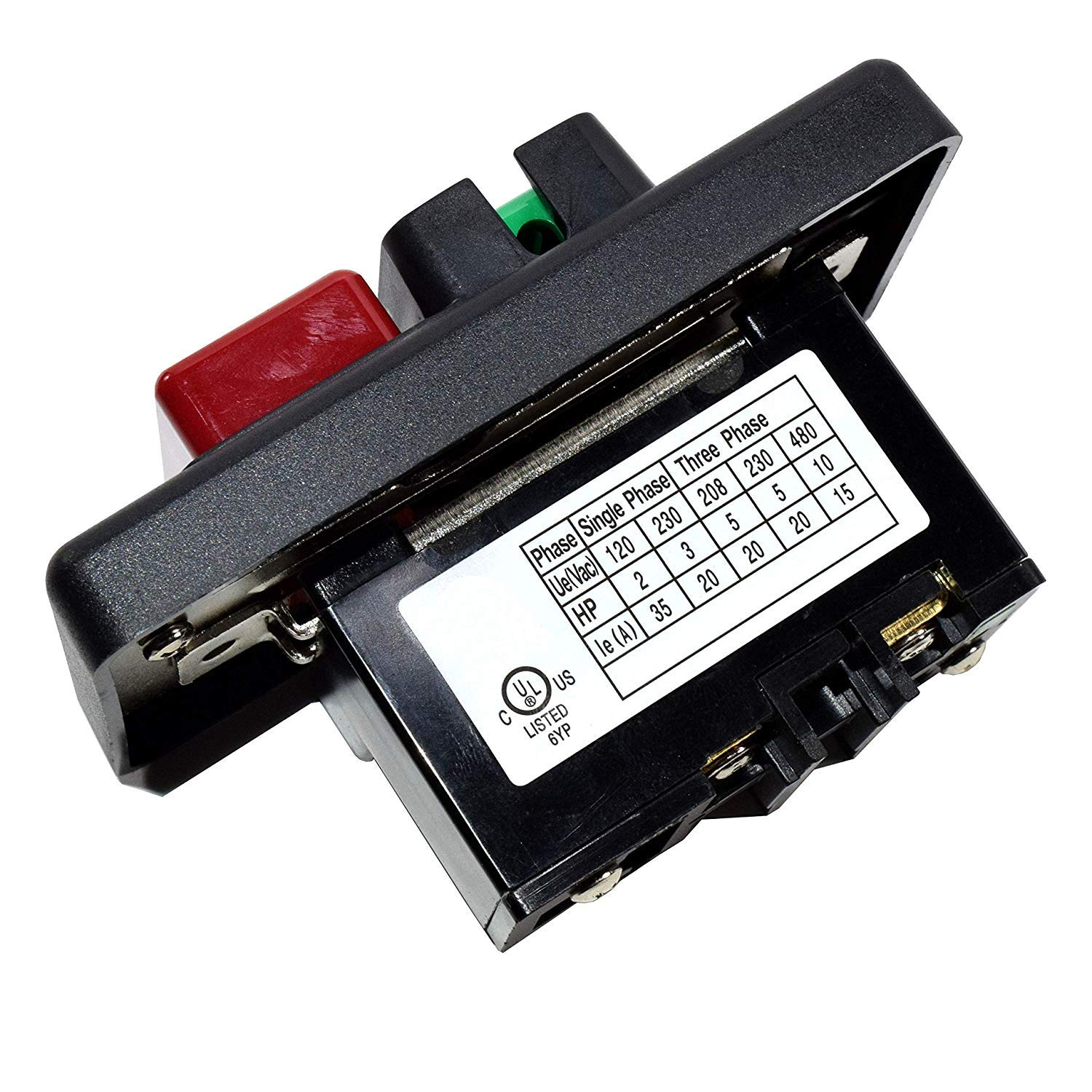 """HQRP On Off Switch for Delta Rockwell Shaper 14"""" Band Saw Bandsaw Sander 110 220 Volt 1 Phase + Coaster by HQRP"""