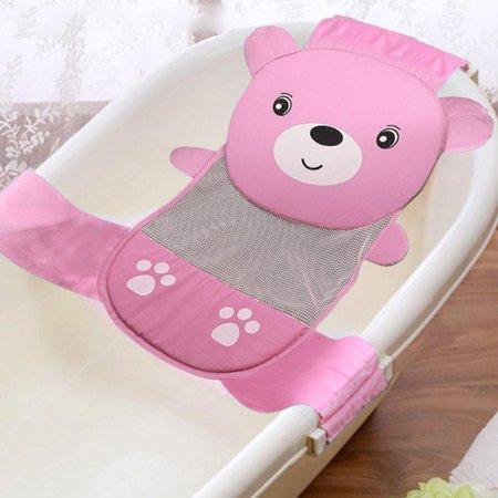 Sonew Quality Adjustable Thicken Newborn Baby Bath Seat Support Net