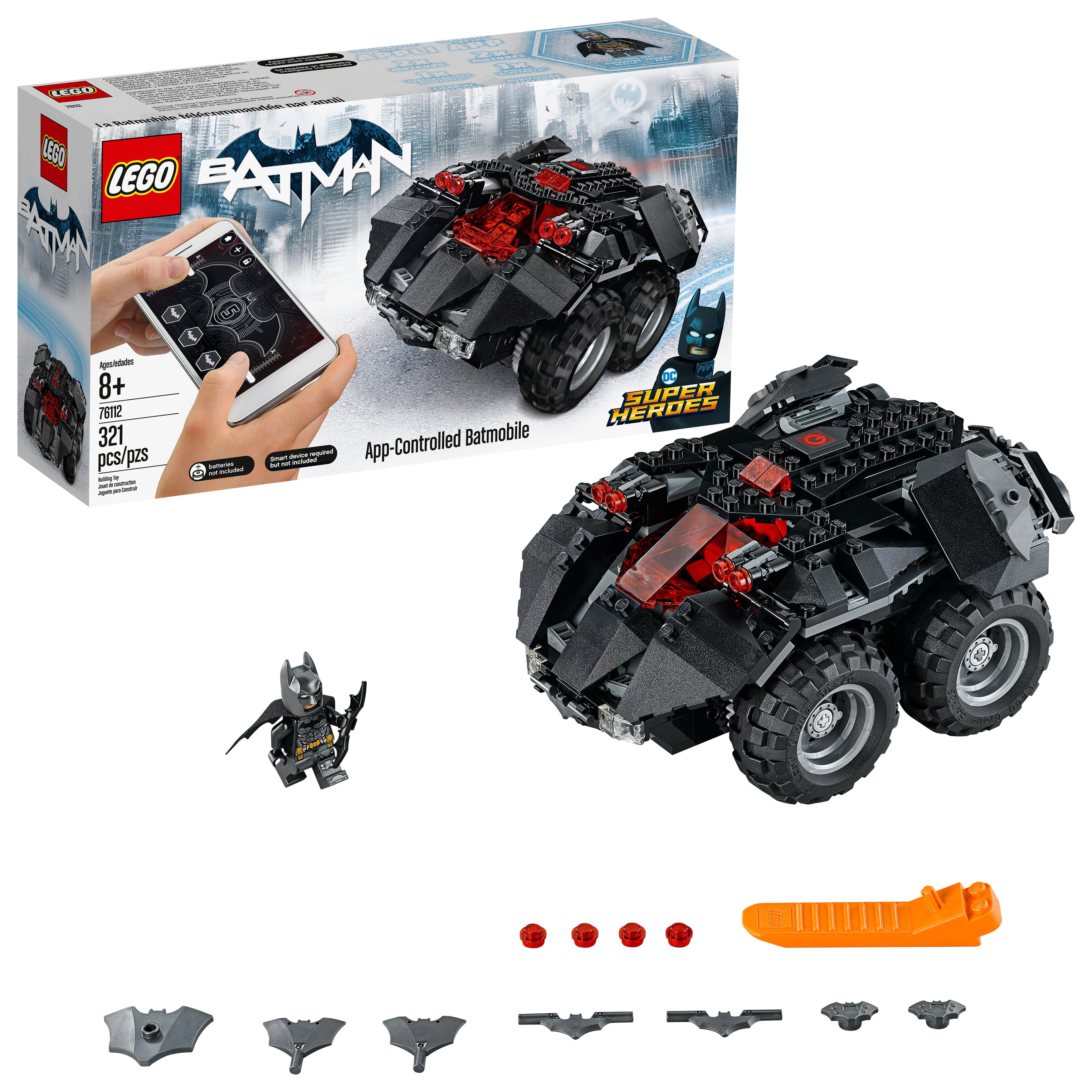 Lego Dc Super Heroes App Controlled Batmobile 76112 Remote Control