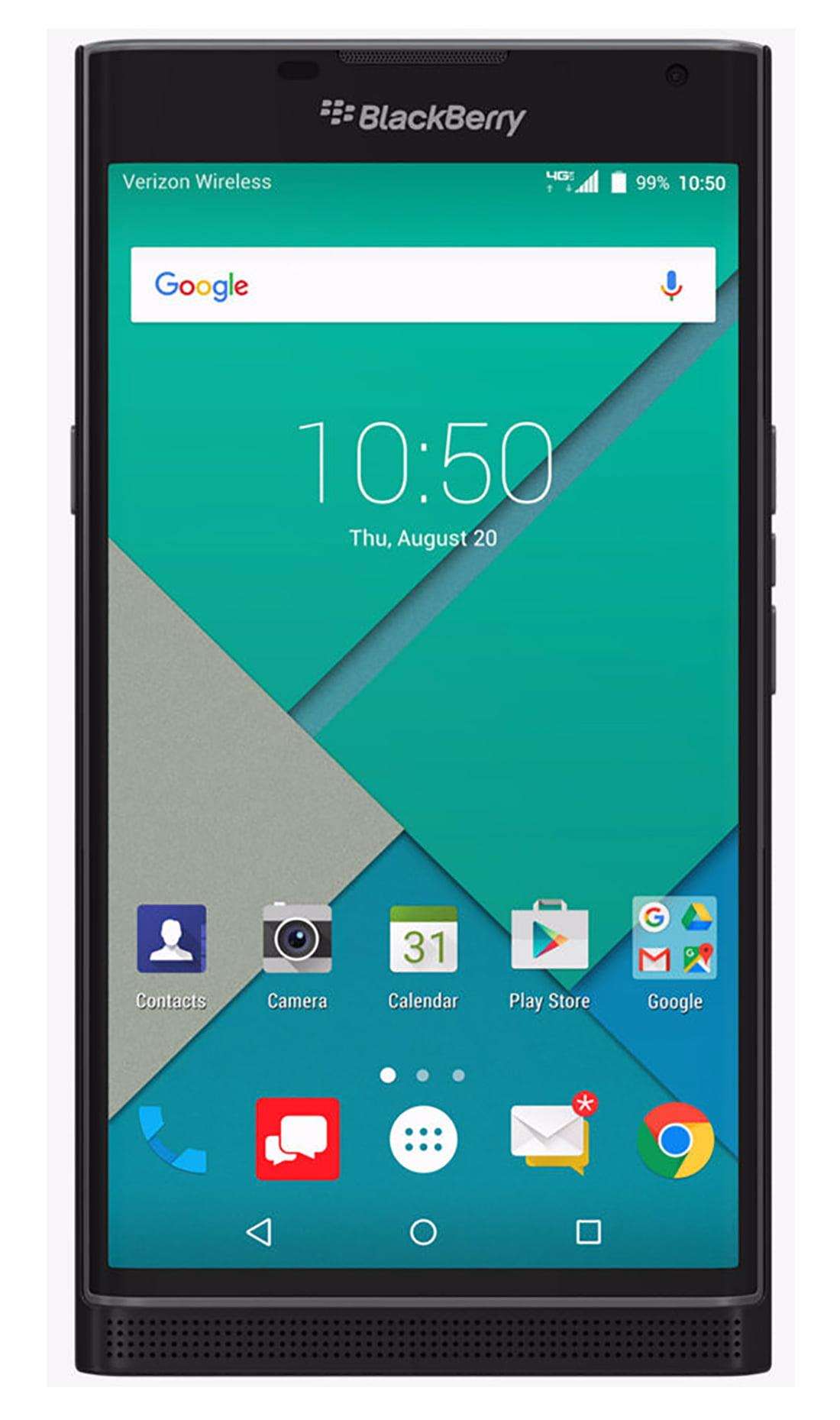 BlackBerry PRIV STV100-2 32GB Verizon/GSM 4G LTE Hexa-Core Phone w/ 18MP  Camera - Black - Walmart.com