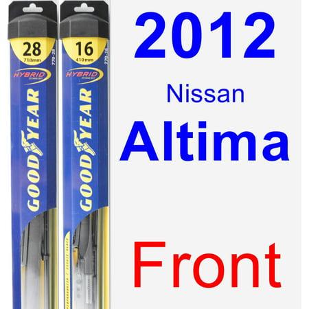 2012 Nissan Altima Wiper Blade Set/Kit (Front) (2 Blades) - Hybrid 2007 Nissan Altima Hybrid