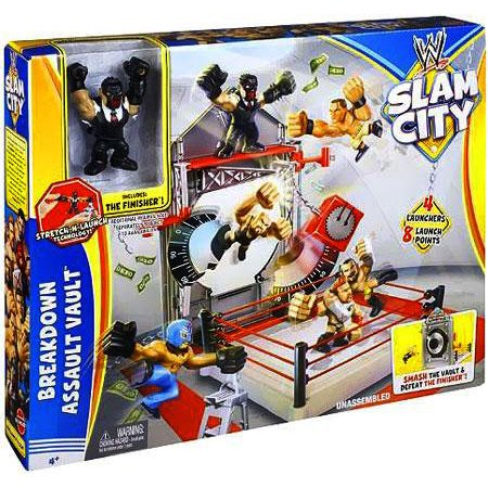 WWE Slam City Breakdown Assault Vault