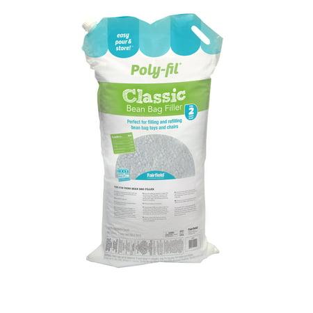 Terrific Poly Fil Classic Bean Bag Filler 2 Cubic Feet Creativecarmelina Interior Chair Design Creativecarmelinacom