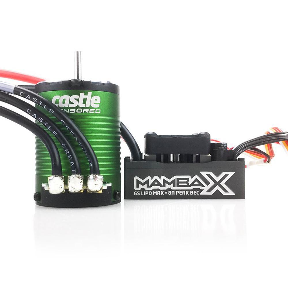 CASTLE Creations Mamba X Sensored 25.2V Wp Esc 1406-5700K...