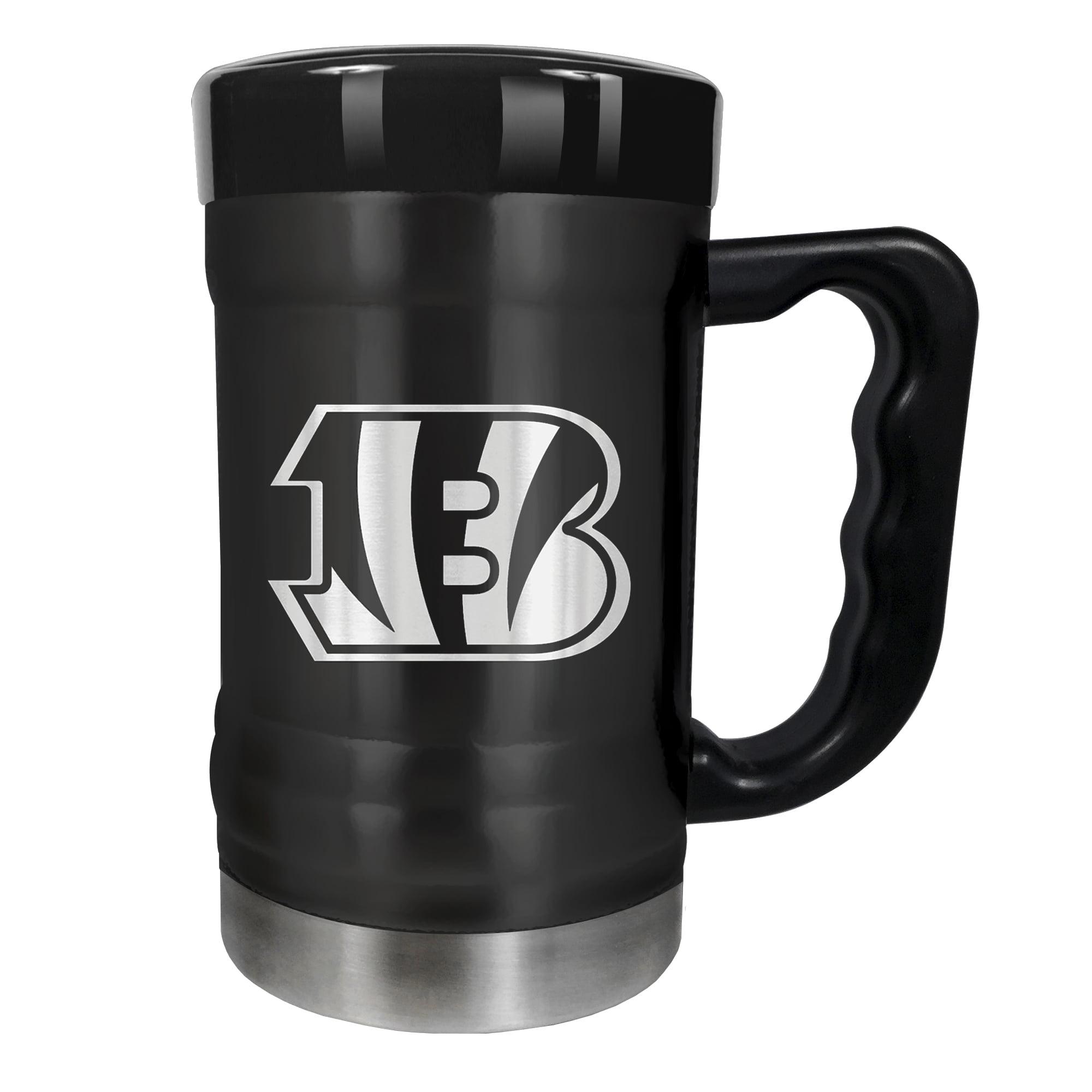 Cincinnati Bengals 15oz. Stealth Coach Coffee Mug - Black - No Size