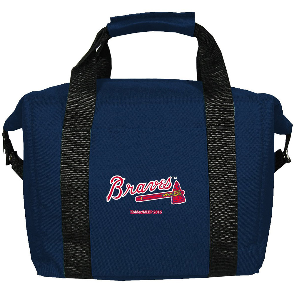 Atlanta Braves 12-Pack Kooler Bag - No Size
