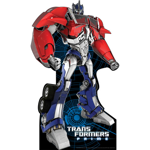 Optimus Prime Transformers Standee