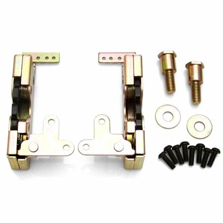 Locking Large Bear Claw Door Latch Set brass racing streetrod classic rzr icon