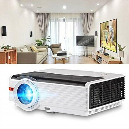 Video Projectors 1080p 4200 Lumens, HD Projector LCD LED 200