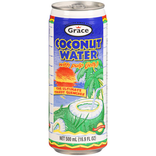 Grace Coconut Water with Pulp, 16.9 fl oz