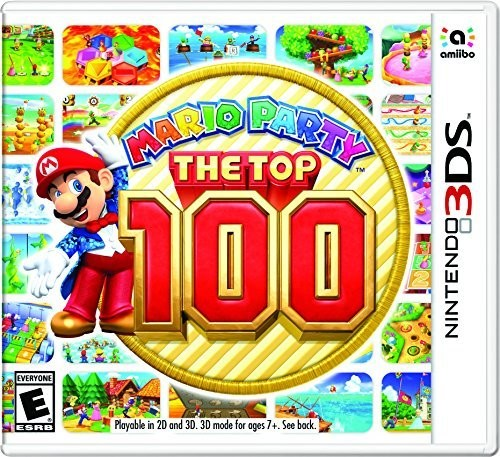 Mario Party: The Top 100, Nintendo, Nintendo 3DS, 045496744847