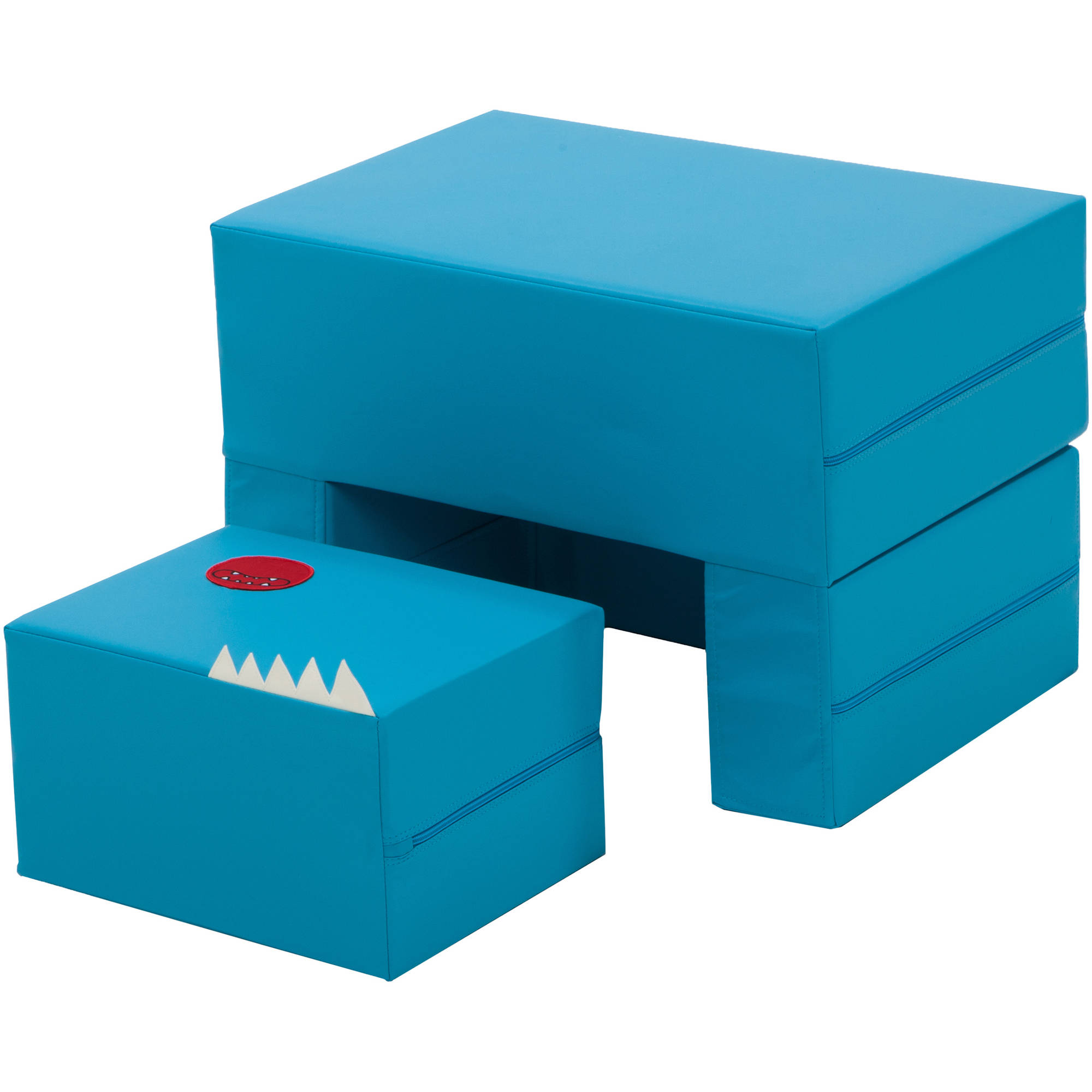 Cake Sofa Transformable Play Furniture for Kids, Blue by
