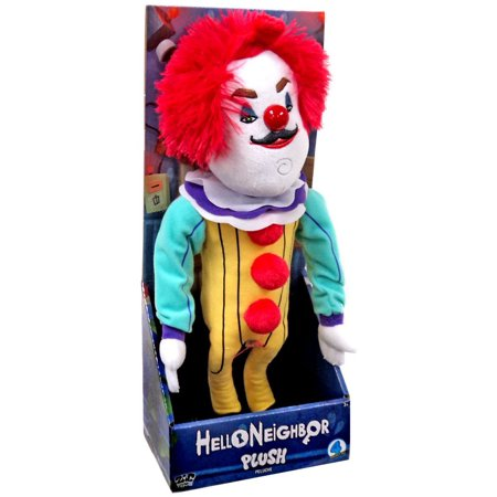 Hello Neighbor The Neighbor in Clown Costume Plush](Lulu The Clown)