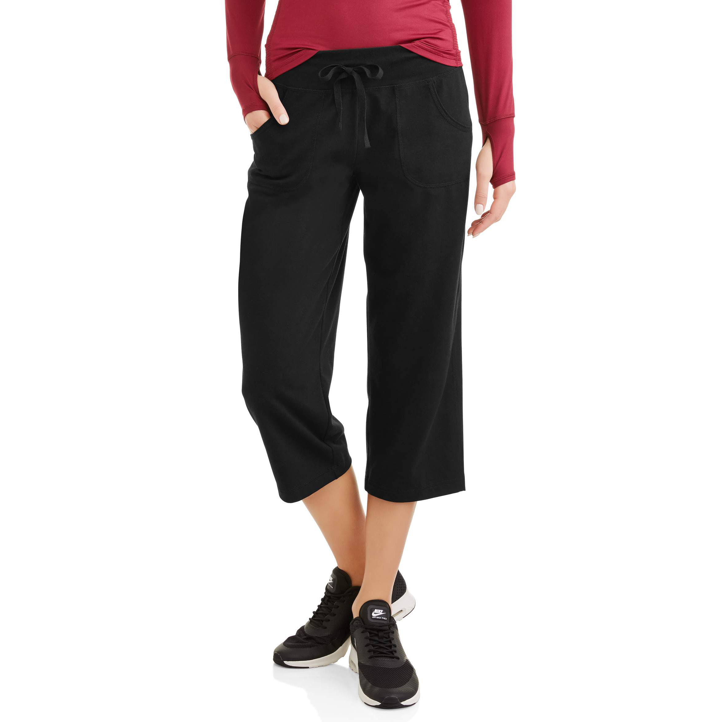 Womens Core Active Knit Capri by Generic
