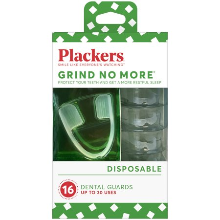 Plackers Grind No More Dental Night Guard for Teeth Grinding, 16