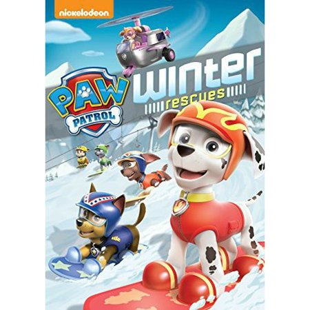 PAW Patrol: Winter Rescues (DVD)