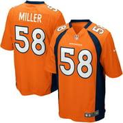 Von Miller Denver Broncos Nike Youth Team Color Game Jersey - Orange