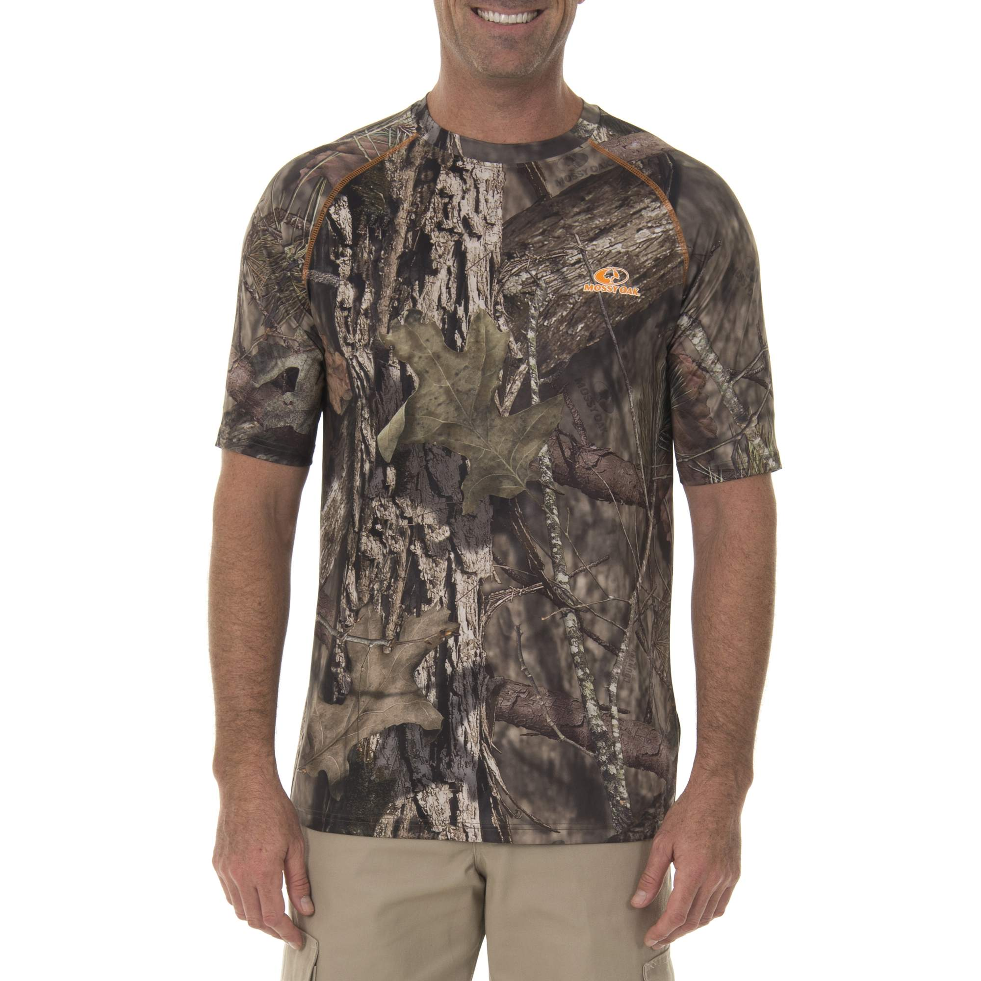 Realtree & Mossy Oak Insect Repellant Performance Short Sleeve Tee