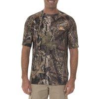 Men's Camo Insect Repellent Flex Performance Short Sleeve Tee Shirt