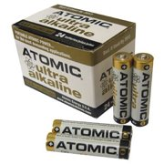 Atomic AAA Alkaline Batteries Value Pack - 24 Pack