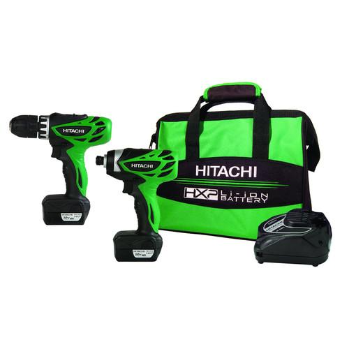 Hitachi 12V Peak 2 Tool Li-Ion Drill Combo Kit with Carrying Bag