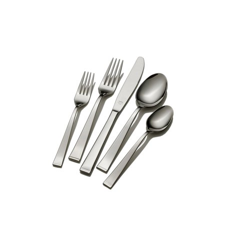 Arctic 5-Piece Flatware Place Setting, 5-piece place setting includes: 1 each of teaspoon, salad fork, place spoon, place fork and place knife By (Each Place Setting)
