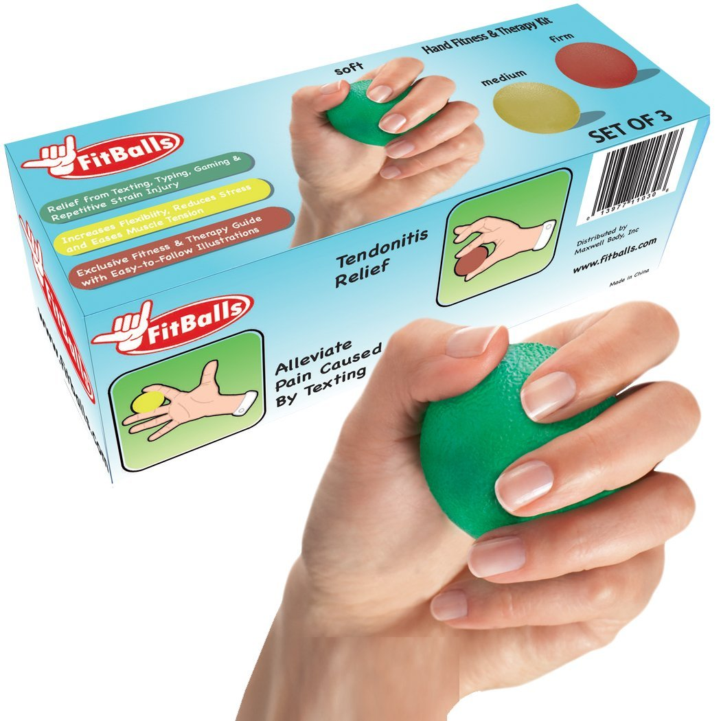 FitBalls Hand Exerciser & Stress Balls