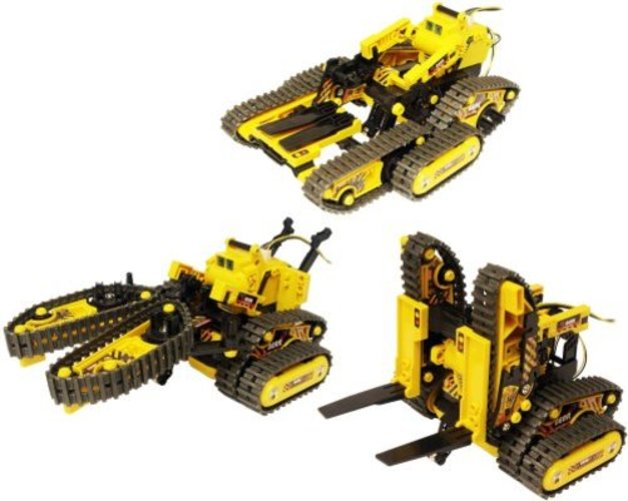 OWI Robots All-Terrain 3-in-1 Remote-Controlled Robot Kit by OWI