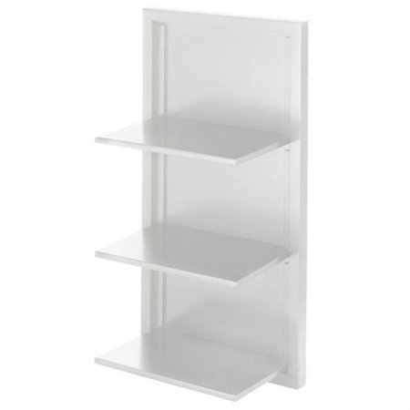 Fold Away Wall Shelves - White - image 1 de 1