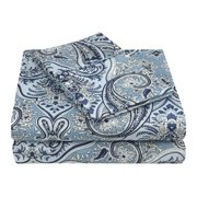 Impressions Etheridge Paisley Microfiber Deep Pocket Sheet Set
