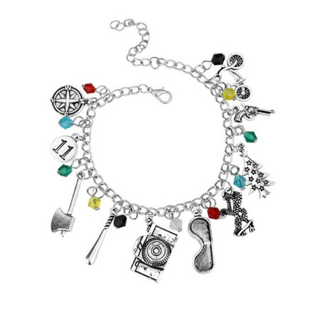 New Theme Collection - KABOER Stranger Things Movie TV Series Themed Collection Charms Womens Bracelet New