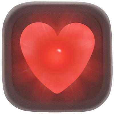 Knog Blinder Heart 1-LED Bicycle Tail Light - w/Red Light