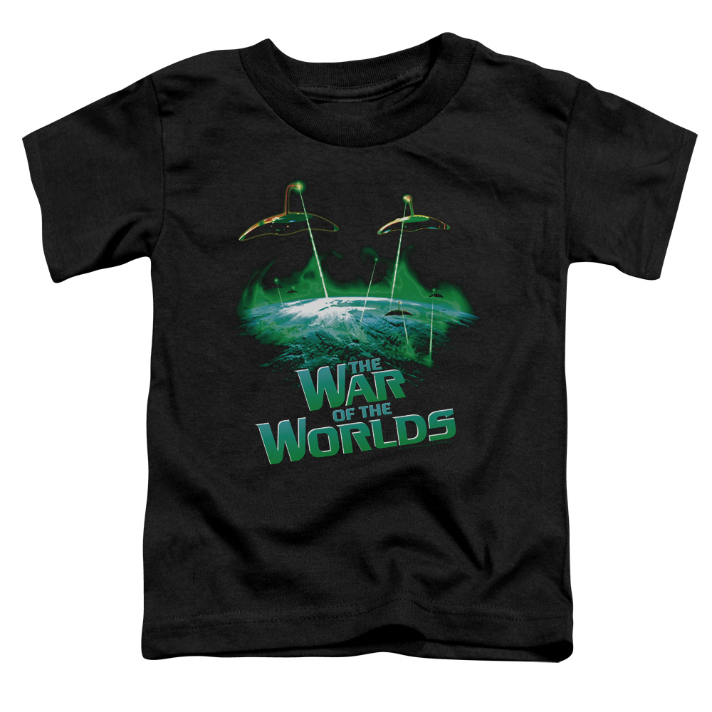 The War of the Worlds Global Attack Little Boys Shirt