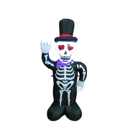 The Holiday Aisle Halloween Inflatable Skeleton with - Halloween Germany Holiday
