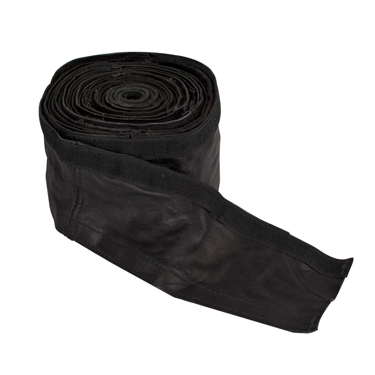 "CK 225HCLV Hose Cover 22' Leather w/ Hook and Loop (3-3/4"")"
