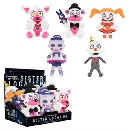 Five Nights at Freddy's Sister Location 8Inch Plush (Location Set)
