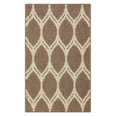 Mainstays Sheridan Ogee High Low Loop Textured Area Rug or - Parallels Runner Rug