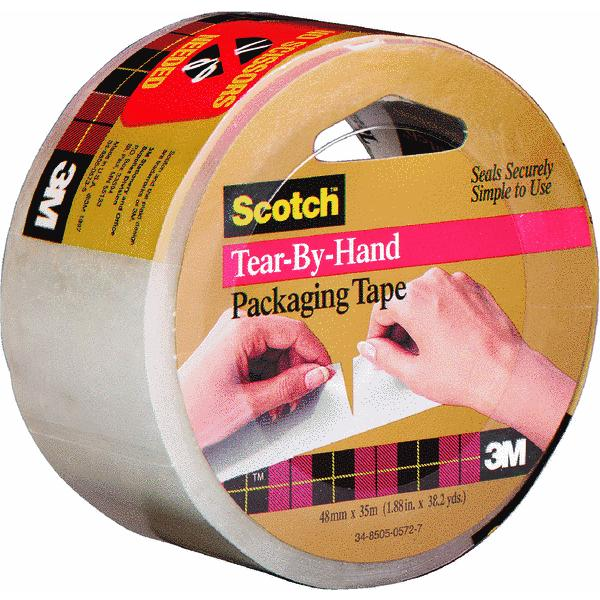 Scotch Hand Tearable Packaging Tape