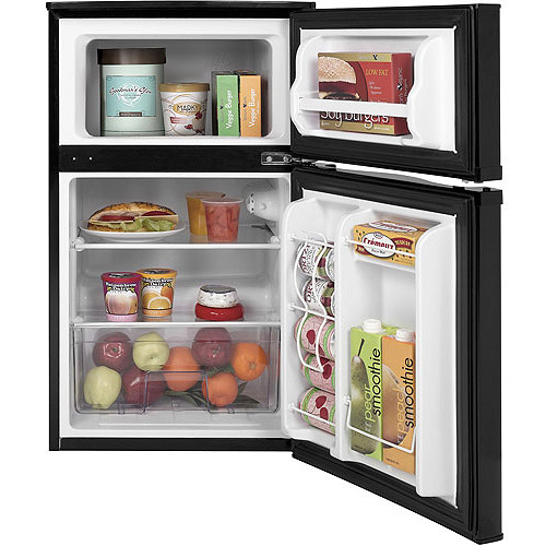 Ge 3 1 Cu Ft 2 Door Compact Refrigerator Black