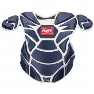 """New Rawlings Chest Protector CP950X 17""""Royal Blue Adult B..."""