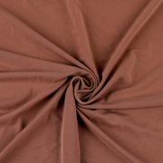 Dusty Pink Solid Venezia Polyester Spandex Stretch Fabric by the Yard