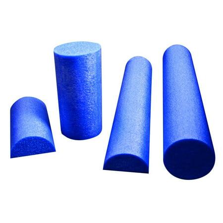 PE Blue Foam Roller, 6