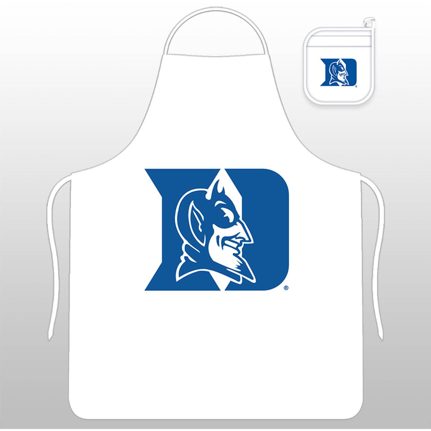 NCAA Duke University Tail Gate Kit with Apron and Mitt by Sports Coverage, Inc.