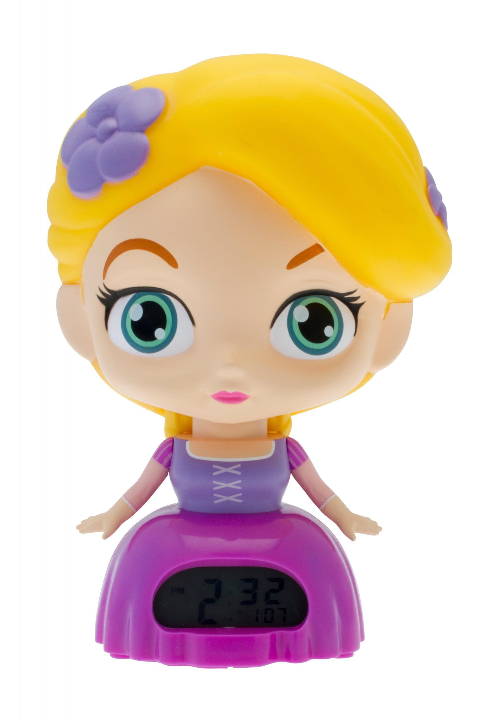 "BulbBotz Disney Princess Rapunzel 7.5"" clock by ClicTime"