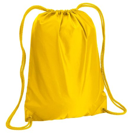 Color Match Drawstring Backpack (Softball Drawstring Bags)