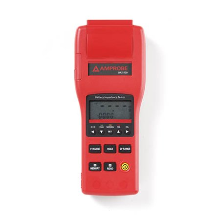 Battery Impedance Tester - Amprobe BAT-500 Battery Impedance Tester up to 40V with RS232 PC Interface