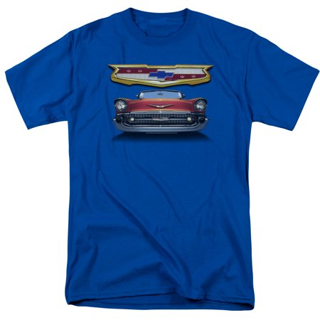 Chevy 1957 Bel Air Grille Mens Short Sleeve Shirt