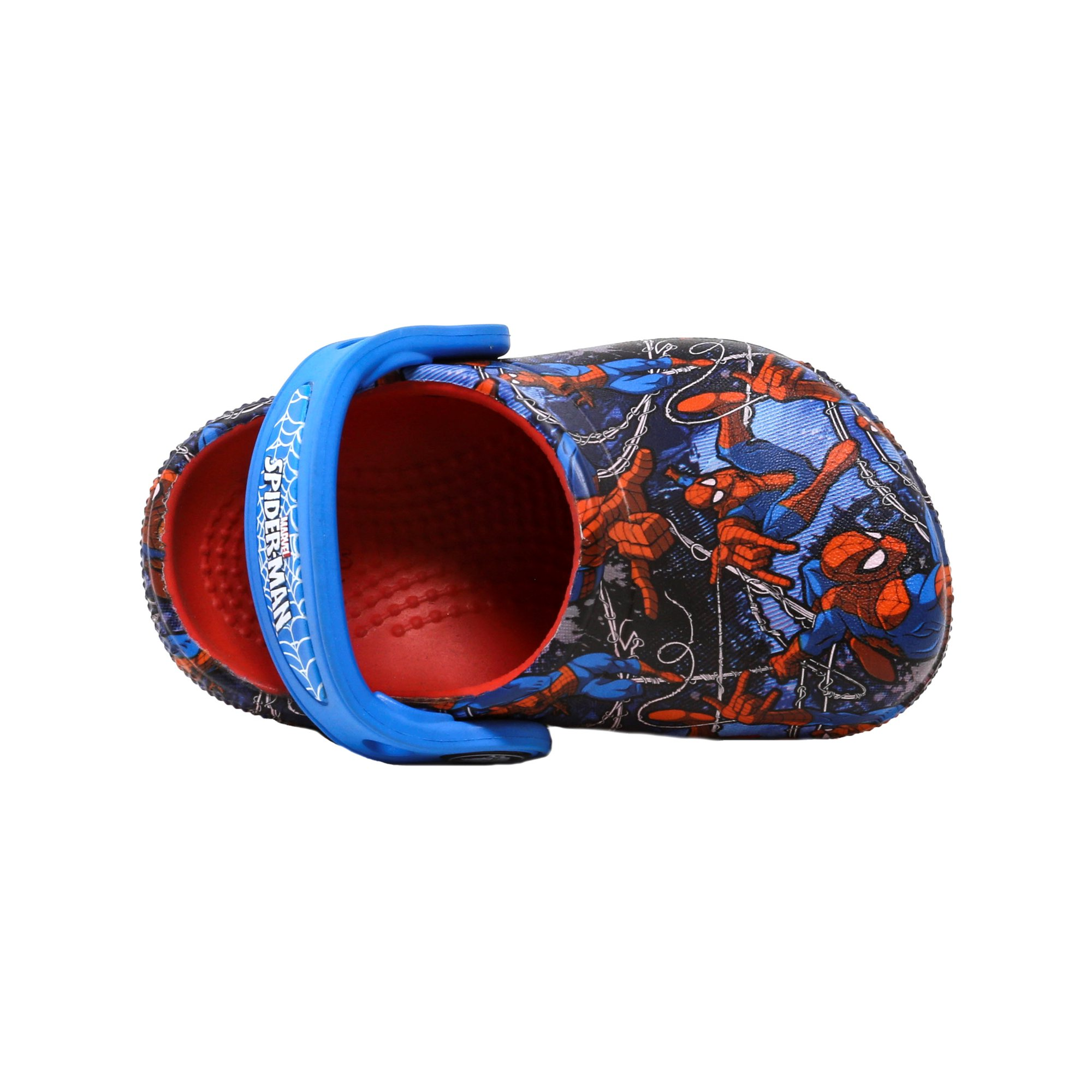 44e647e1f83965 Buy Crocs Crocsfunlab Spiderman Flame Ankle-High Clogs - 5M ...