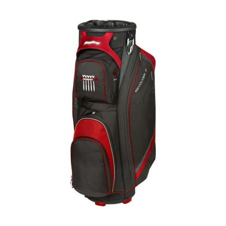 Bag Boy Revolver FX Cart Bag Black//Red/Silver